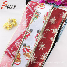 Father Christmas Luxury Christmas Ribbon